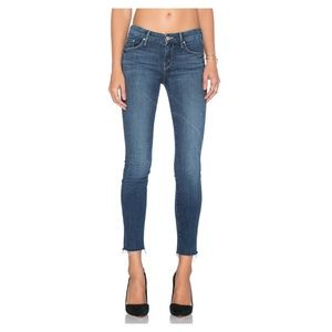 Mother Jeans   Looker Ankle Fray - Girl Crush